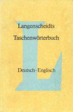 دیکشنری آلمانی به انگلیسی Langenscheidts Taschenworterbuch Deutsch - English