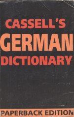 فرهنگ آلمانی به آلمانی Cassell's German Dictionary