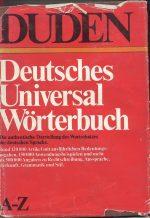 فرهنگ آلمانی دودن Deutsches Universal Worterbuch
