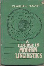 A course in Modern Linguistics