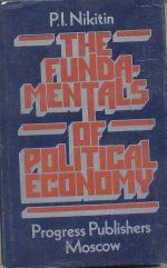 The fundamental of political economy بنیان اقتصاد سیاسی Nilitin نیکی تین